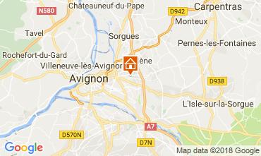Karte Avignon Villa 114848