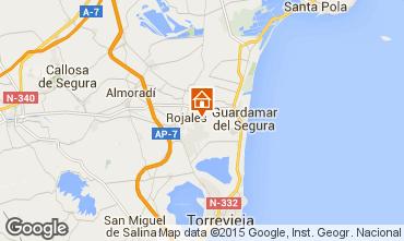 Karte Rojales Appartement 101035