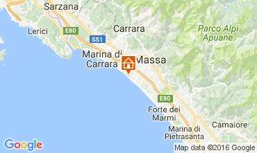 Karte Marina di Massa Appartement 72407