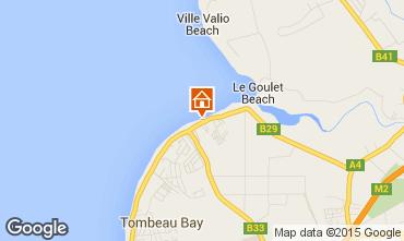 Karte Baie du tombeau Villa 86489