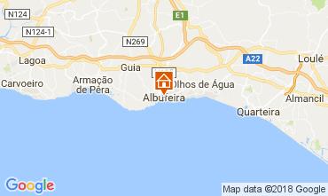 Karte Albufeira Appartement 113295