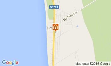 Karte Tirrenia Appartement 76318