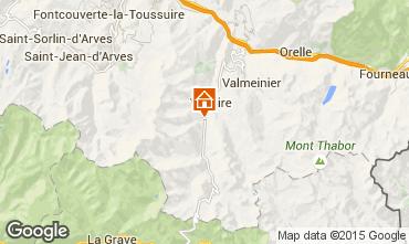 Karte Valloire Appartement 3417