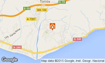 Karte Torrox Appartement 67674