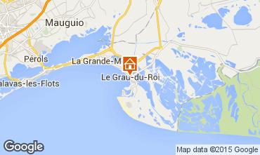 Karte Le Grau du Roi Studio 76761