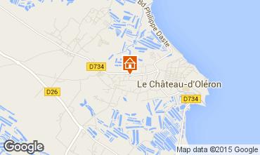 Karte Le Château d'Oléron Haus 81886