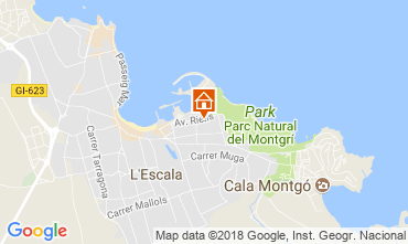 Karte L'Escala Appartement 114241