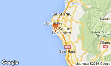 Karte La Saline les Bains Villa 102442