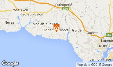 Karte Clohars Carnoet Haus 94820