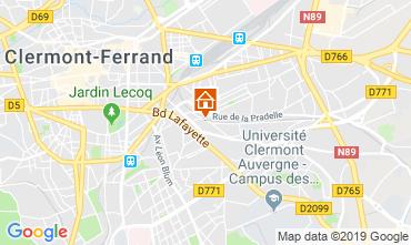 Karte Le Mont Dore Appartement 15479