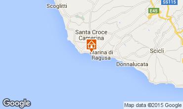 Karte Marina di Ragusa Appartement 40914