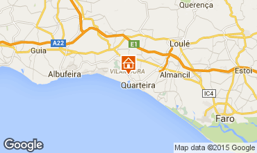 Karte Vilamoura Appartement 70127
