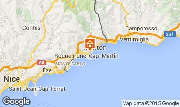 Karte Roquebrune Cap Martin Appartement 56046