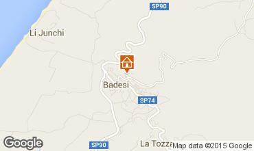 Karte Badesi Appartement 92351