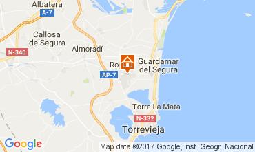 Karte Torrevieja Appartement 109820