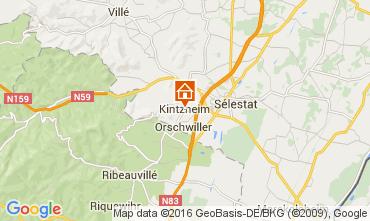 Karte Kintzheim Ferienunterkunft auf dem Land 105801