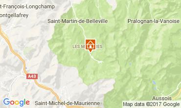 Karte Les Menuires Appartement 1606