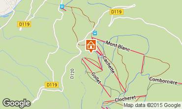 Karte Les Arcs Chalet 90038