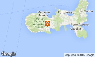 Karte Campo nell'Elba Villa 94186