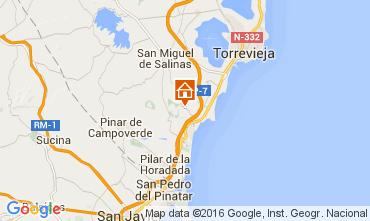 Karte Torrevieja Villa 102644