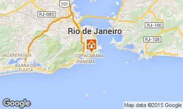 Karte Rio de Janeiro Appartement 39616
