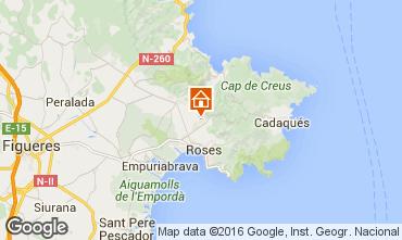 Karte Rosas Villa 102783