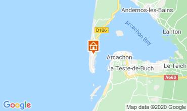 Karte Cap Ferret Villa 9381