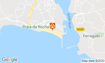 Karte Praia da Rocha Studio 53606