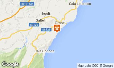 Karte Orosei Chalet 94343