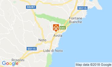Karte Avola Villa 117196