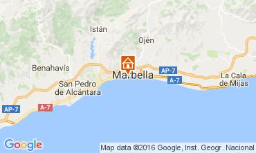 Karte Marbella Appartement 77829
