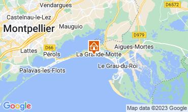 Karte La Grande Motte Appartement 57110
