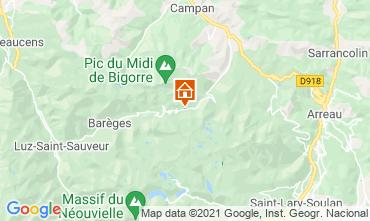 Karte La Mongie Appartement 67265