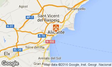 Karte Alicante Appartement 8191