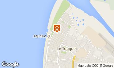 Karte Le Touquet Appartement 7766