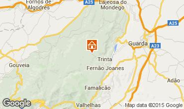 Karte Guarda Ferienunterkunft auf dem Land 50385