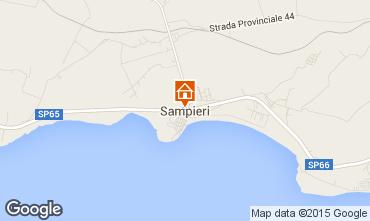 Karte Sampieri Appartement 99234