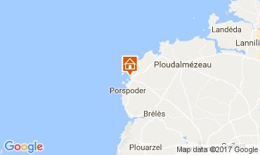 Karte Porspoder Haus 106571