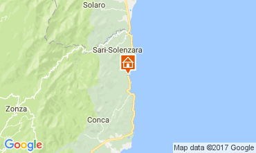 Karte Solenzara Villa 112517