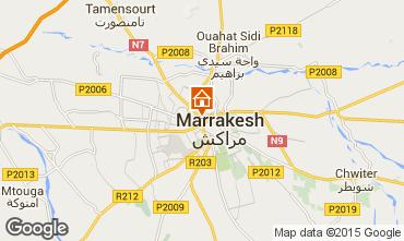 Karte Marrakesch Appartement 86378