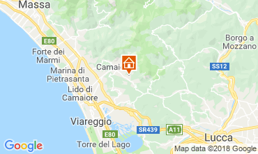 Karte Camaiore Appartement 109017