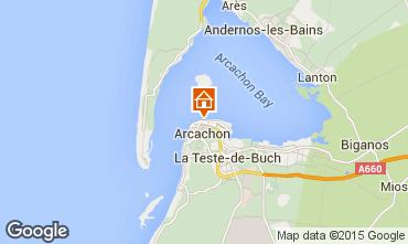 Karte Arcachon Studio 46236