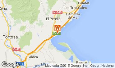 Karte L'Ampolla Villa 9907