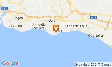 Karte Albufeira Appartement 109918