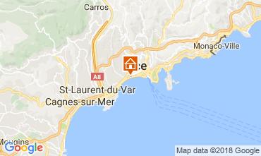 Karte Nice Appartement 113014