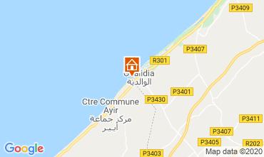 Karte Oualidia Villa 23490