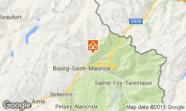 Karte Les Arcs Appartement 91604