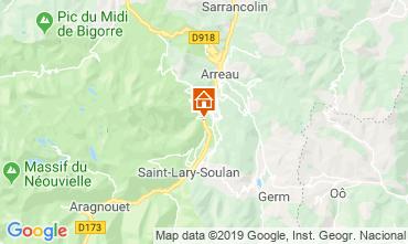 Karte Saint Lary Soulan Haus 117672