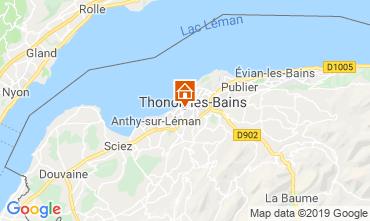 Karte Thonon Les Bains Appartement 118446