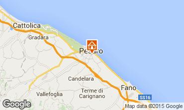 Karte Pesaro Appartement 79887